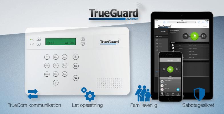 TrueGuard SMART alarmsystem