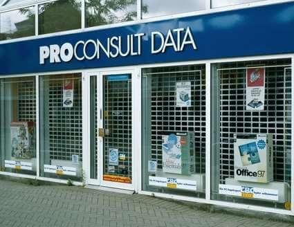 Rullegitter installeret hos PROConsult i Odense