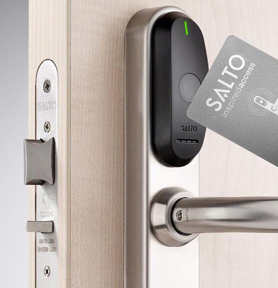 Salto Adgangskontrol med nøglekort
